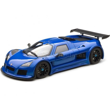 2008 Gumpert Apollo S Metallic Blue 1:18 AUTOart 71303