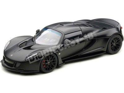2010 Hennessey Venom GT Spyder Matt Carbon Black 1:18 AUTOart 75401