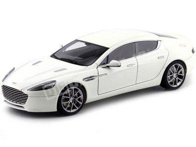 2015 Aston Martin Rapide S Stratos White 1:18 AUTOart 70256