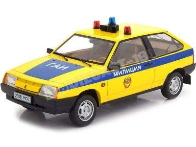 1984 Lada Samara Policía Rusia 1:18 KK-Scale 180216