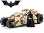 2012 The Dark Knight Trilogy Camouflage Tumbler + Figura Batman 1:24 Jada Toys 98543
