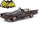 1966 TV Series Batmobile con luces, Batman y Robin 1:18 Jada Toys 98625