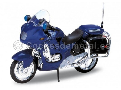 1996 BMW R1100 RT Gendarmerie Blue 1:18 Welly 12150 Cochesdemetal.es