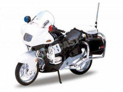 1996 BMW R1100 RT Police White 1:18 Welly 12150 Cochesdemetal.es