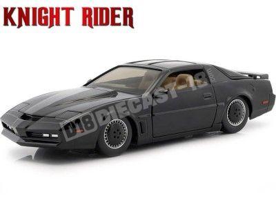 1982 Pontiac Firebird Knight Rider KITT El Coche Fantástico 1:24 Jada Toys 30086 Cochesdemetal.es