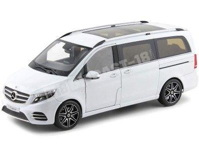 2017 Mercedes-Benz Monovolumen Clase V Blanco 1:18 Dealer Edition B66004156 Cochesdemetal.es