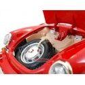 1961 Porsche 356B Cabriolet Rojo 1:18 Bburago 12025 Cochesdemetal.es