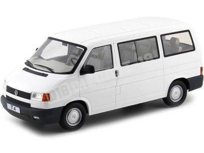 1992 Volkswagen T4 Caravelle Microbus Blanco 1:18 KK-Skale 180262