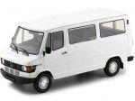 1988 Mercedes-Benz 208 D Microbus Blanco 1:18 KK-Scale 180291