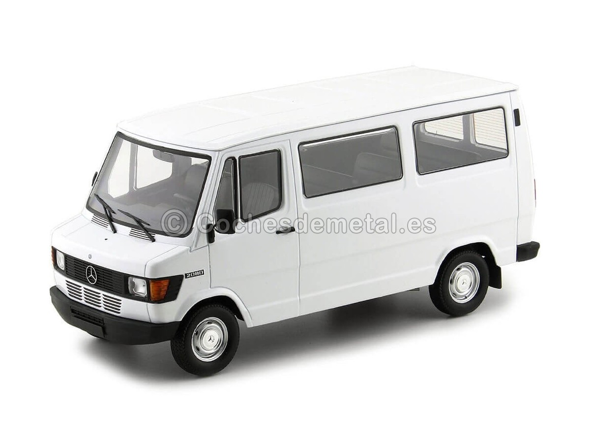 MERCEDES-BENZ 208 D Camion année modèle 1988 blanc 1:18 KK-Scale
