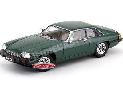 1975 Jaguar XJS V12 Verde Metalizado 1:18 Road Signature 92658 Cochesdemetal.es