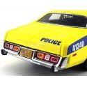 """1977 Plymouth Fury Police """"Autoridad Portuaria"""" 1:18 Greenlight 19056"""