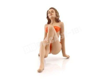 "Figura de Resina ""Bikini Girl November"" 1:18 American Diorama 38175 Cochesdemetal.es"