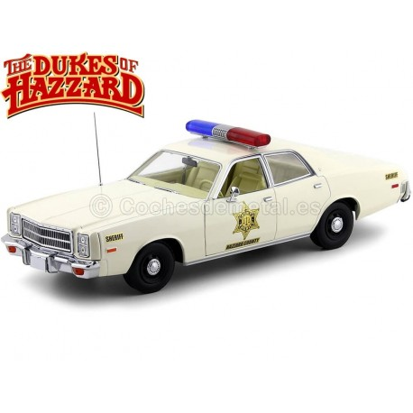 "1977 Plymouth Fury Police ""Sheriff Hazzard"" 1:18 Greenlight 19055"