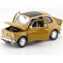 1957 Fiat Nuova 500 Amarillo Oscuro 1:18 Welly 18009