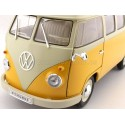 1963 Volkswagen T1 Classical Microbus Amarillo-Beige 1:18 Welly 18054
