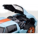 2004 Ford GT LM Gulf Livery 1:18 AUTOart 80513