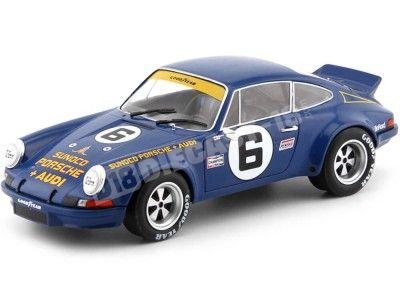 """1973 Porsche 911 RSR 2.8 """"24 Horas Daytona"""" 1:18 Solido S1801105 Cochesdemetal.es"""