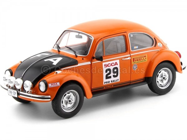1973 Volkswagen Beetle 1303S SCCA Rally USA 1:18 Solido S1800506 Cochesdemetal.es