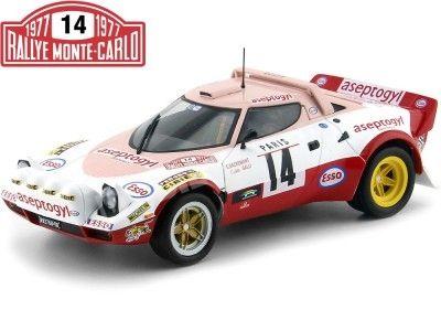 1977 Lancia Stratos Rally Montecarlo 1:18 Solido S1800805 Cochesdemetal.es