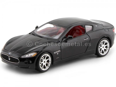 2008 Maserati Gran Turismo Negro 1:24 Bburago 22107