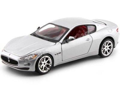 2008 Maserati Gran Turismo Gris Metalizado 1:24 Bburago 22107