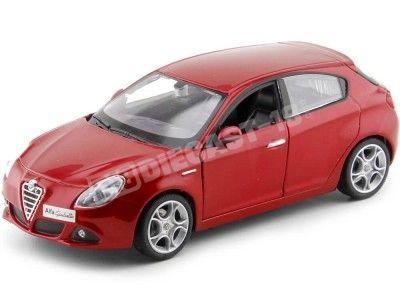 2010 Alfa Romeo Giulietta Granate Metalizado 1:24 Bburago 22128