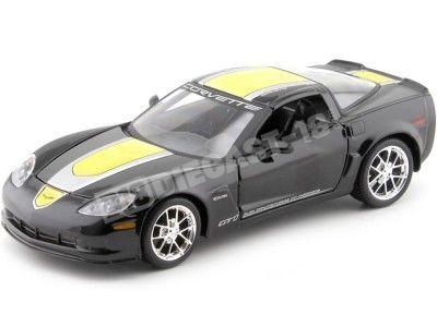 2009 Chevrolet Corvette Z06 GT1 Negro 1:24 Maisto 31203