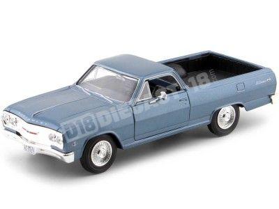 1965 Chevrolet El Camino Azul Metalizado 1:25 Maisto 31977
