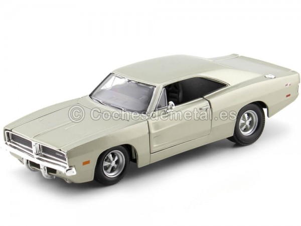 1969 Dodge Charger R-T Metallic Gold 1:24 Maisto 31256