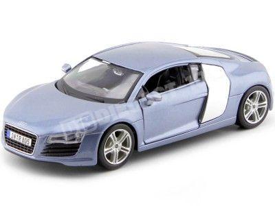 2008 Audi R8 Azul Metalizado 1:24 Maisto 31281