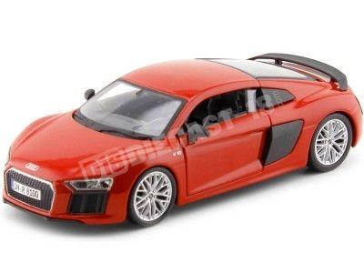 2015 Audi R8 V10 Plus Rojo 1:24 Maisto 31513 Cochesdemetal.es
