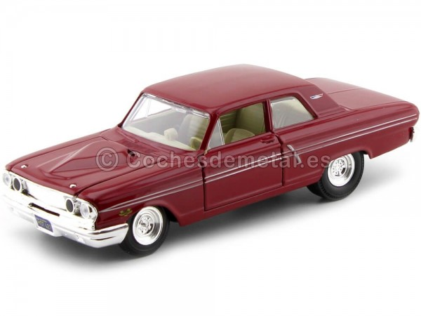 1964 Ford Fairlane Thunderbolt Granate 1:24 Maisto 31957