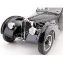 1937 Bugatti Type 57 SC Atlantic Black 1:18 Solido S1802101 Cochesdemetal.es