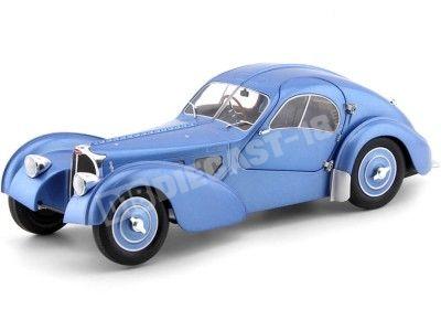 1937 Bugatti Type 57 SC Atlantic Gris Bleu 1:18 Solido S1802102 Cochesdemetal.es