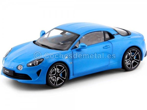 2017 Renault Alpine A110 First Edition Bleu Abysse 1:18 Solido S1801601 Cochesdemetal.es