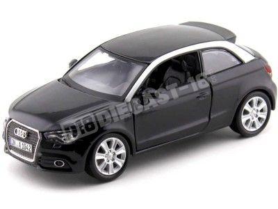 2010 Audi A1 Coupe Negro 1:24 Bburago 21058