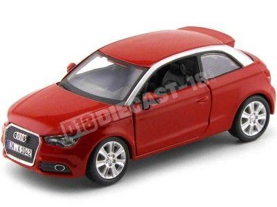 2010 Audi A1 Coupe Rojo 1:24 Bburago 21058