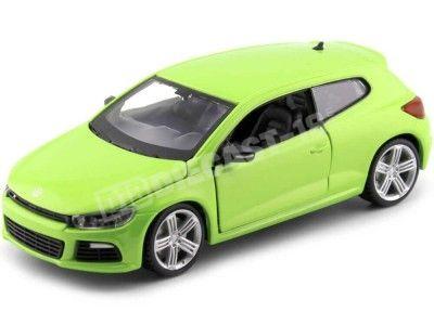 2008 Volkswagen Scirocco R Verde 1:24 Bburago 21060