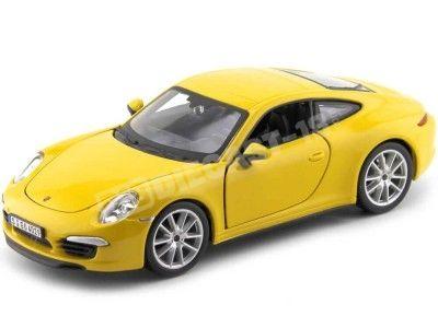 1999 Porsche 911 Carrera S Amarillo 1:24 Bburago 21065