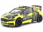 2015 Ford Fiesta RS WRC Valentino Rossi Winner Rally Monza 1:18 IXO Models 18RMC015