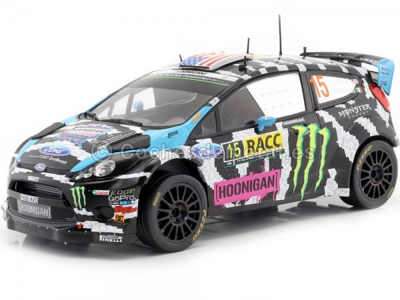 2014 Ford Fiesta RS WRC Rallye Catalunya 1:18 IXO Models 18RMC017 Cochesdemetal.es