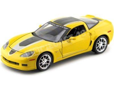 2009 Chevrolet Corvette Z06 GT1 Amarillo 1:24 Maisto 31203