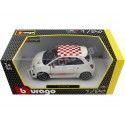2008 Fiat 500 Abarth Blanco 1:24 Bburago 22111