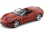 2014 Chevrolet Corvette Stingray Cabrio Rojo 1:24 Maisto 31501