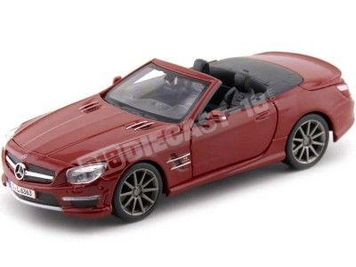 2013 Mercedes-Benz SL 63 AMG Cabrio Rojo 1:24 Maisto 31503