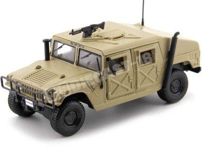 1984 Hummer Humvee Militar Arena del Desierto 1:27 Maisto 31974