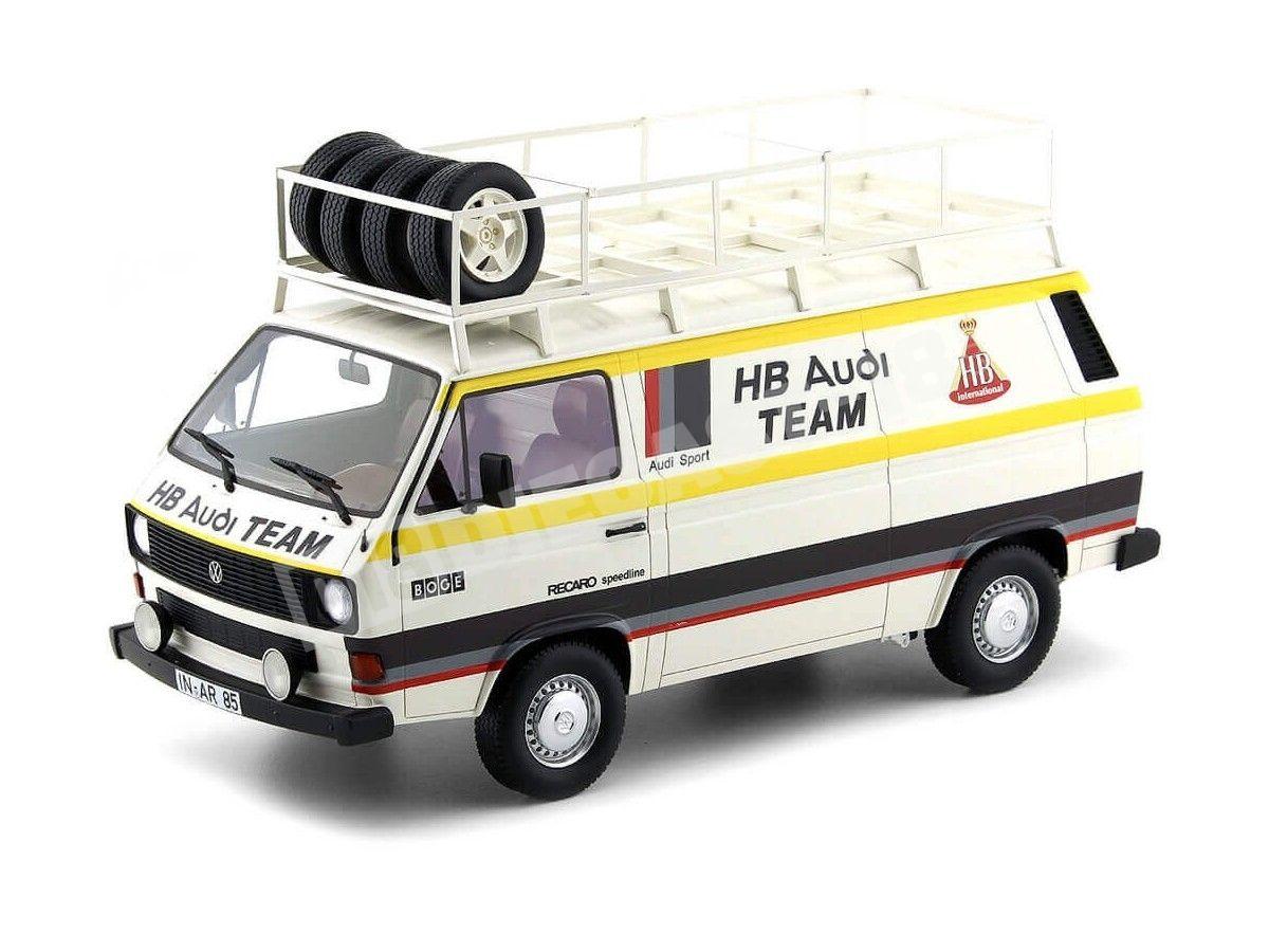1980 Volkswagen T3 Transporter Equipo Audi HB 1:18 Premium ClassiXXs PCL30023 Cochesdemetal.es