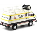 1980 Volkswagen T3 Transporter Equipo Audi HB 1:18 Premium ClassiXXs PCL30023