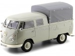 1963 Volkswagen T1 DoKa Doble Cabina Con Caja 1:18 Premium ClassiXXs PCL30080